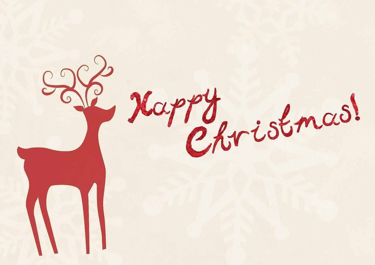 Kurze Weihnachtsgrüße