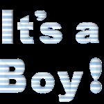 Glückwünsche zur Geburt eines Jungen