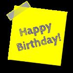Nachträgliche Geburtstagssprüche
