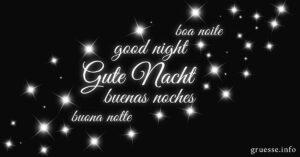 Gute Nacht.
