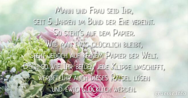 Holzerne Hochzeit Spruche Die Schonsten Grusse Und Spruche