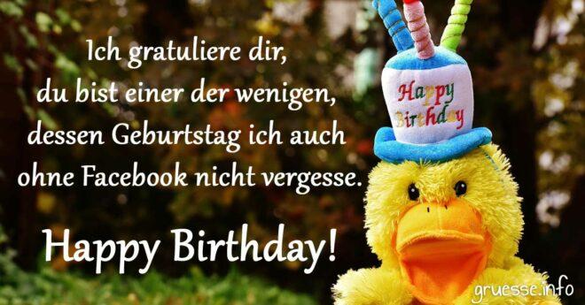 Ich gratuliere dir, du bist einer der wenigen, dessen Geburtstag ich auch ohne Facebook nicht vergesse. Happy Birthday!